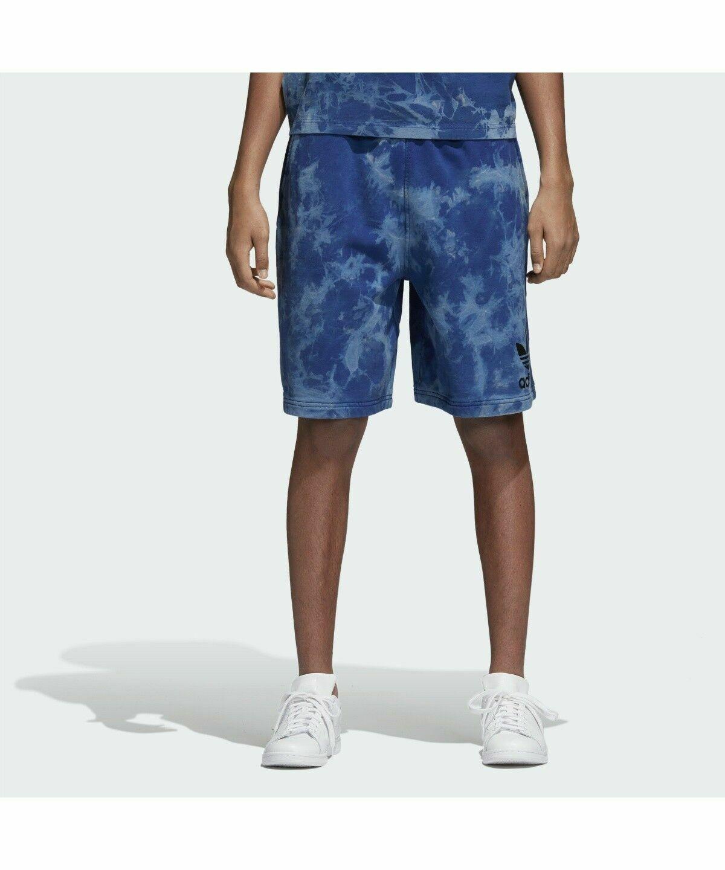 New Men's Adidas Originals Tie-Dye Shorts   Legend Ink