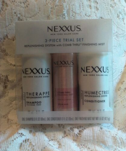 Nexxus 3 Piece Trial Set Replenishing System with Finishing