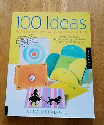 100 Ideas Stationery Cards Invitations Simple Stylish Project McFadden paperback - Invitation Ideas