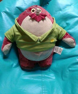 Don Carlton plush from the Pixar studios motion pictures Monster Inc University
