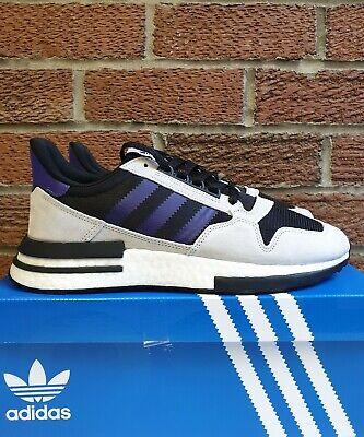 Adidas zx 500 rm Size 11.5 UK size exclusive purple black white grey F36913