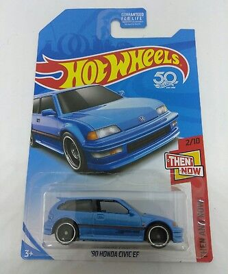 VHTF KMART EXCLUSIVE COLOR 2018 HOT WHEELS B CASE HONDA CIVIC '90 CIVIC EF