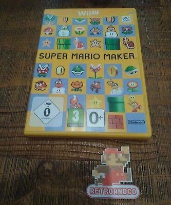 Jeux vidéo Super mario maker wii u Nintendo