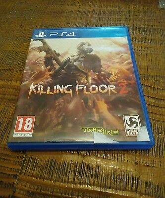 Jeux vidéo killing floor 2 sony Playstation 4 zombies PS4