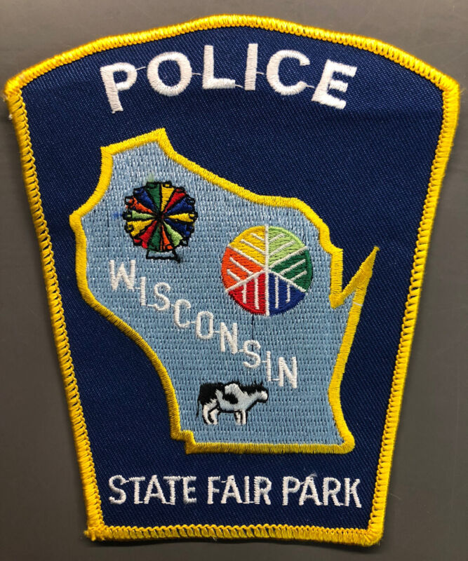 State Fair Park Wisconsin Police Patch