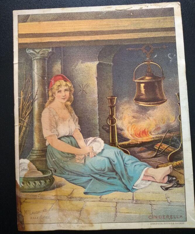 Antique Victorian Trade Card McLaughlin