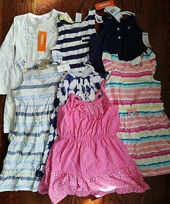 7 Girl Size 5 Dresses NWT Baby Gap Nautica Gymboree
