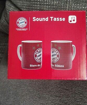 FC Bayern München Sound Kaffeebecher Becher Tasse Stern des Südens