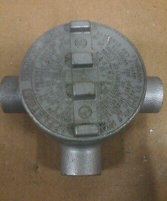 Gr-efhc Seriesgr Type T 34 Appleton 3-way Conduit Outlet Box