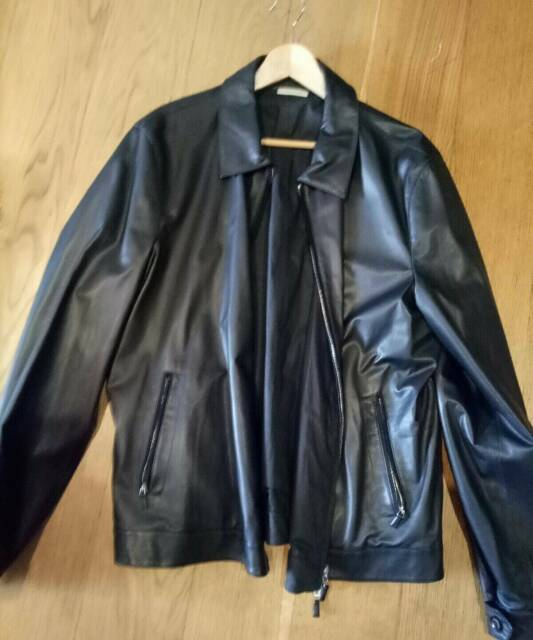 a24a9f2f ermenegildo zegna leather jacket | Jackets & Coats | Gumtree ...