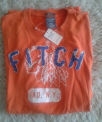 CAMISETA Abercrombie & Fitch MADE IN USA 100% Algodón