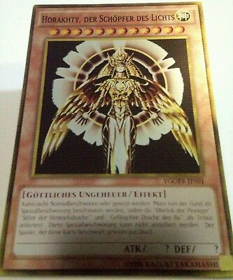 Horakhty der Schöpfer des Lichts, YGOPR-JP001,  Metal Rare, ORICA/anime yugioh