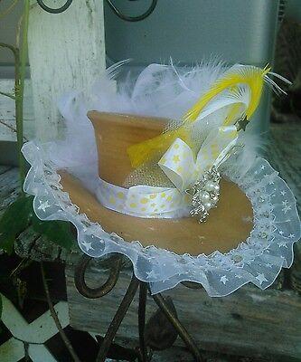 Steampunk costume ball birthday tea party mini mad hatter top hat ](Steampunk Mad Hatter Costume)