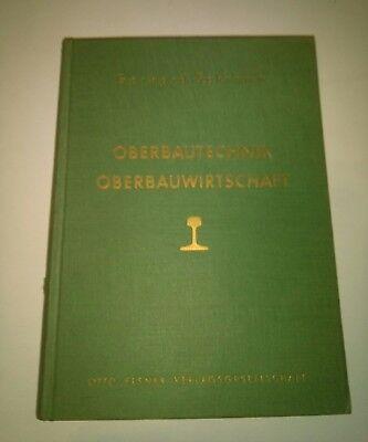 Gerhard Schramm Oberbautechnik Oberbauwirtschaft 1960 Otto Elsner Verlag selten gebraucht kaufen  Versand nach Austria