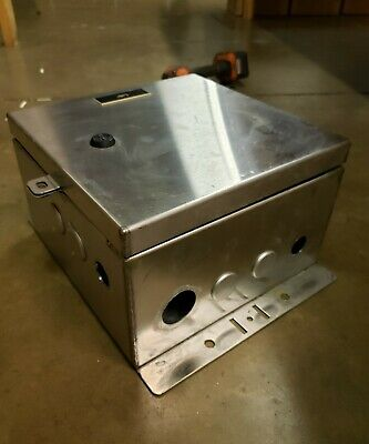 Dudlik Turn Latch Stainless Steel Junction Box - With Terminal Block 12x12x7.5