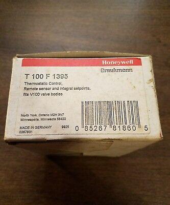 Honeywell Thermostatic Control W/ Remote Sensor & Setpoints Part# T100F1395