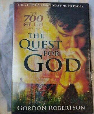 The 700 Club Presents  The Quest For God  Dvd  Gordon Robertson   New