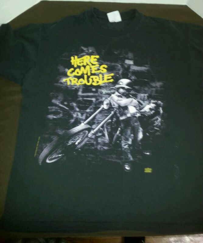 VTG 1992 Bad Company Here Comes Trouble Shirt size XL Mens