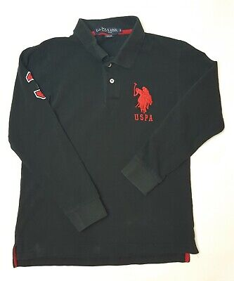 U.S Polo Assn. USPA No.3 polo long sleeved shirt cotton  jumper  size S comprar usado  Enviando para Brazil
