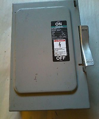 T7 Siemens I-t-e Enclosed Switch Electric Box Cat. No. Jn422 Seriesca Type 1