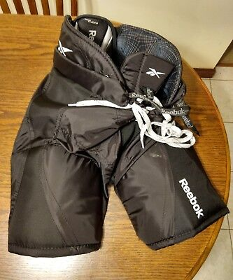 fae92a179a6 Used REEBOK JDP HOCKEY PANTS WITH HIP AND THIGH PADS Junior Size L