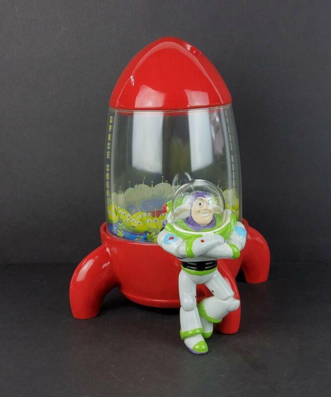 Disney Direct Toy Story Space Crane Buzz Lightyear Ceramic Cookie Jar - Rare!