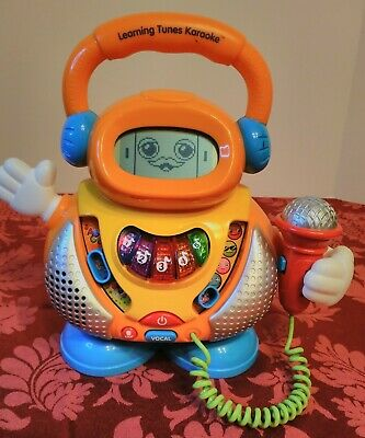 VTECH Learning Tunes Karaoke Music Microphone Numbers Alphabet Letters Songs
