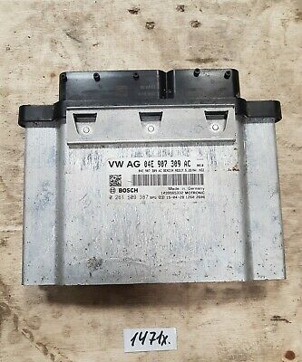 AUDI A1 TFSI 2015 ENGINE CONTROL UNIT ECU 04E907309AC
