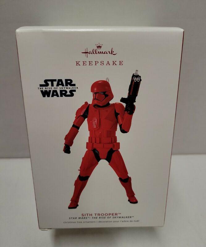 Hallmark Keepsake 2019 Star Wars The Rise of Skywalker Sith Trooper Ornament NEW