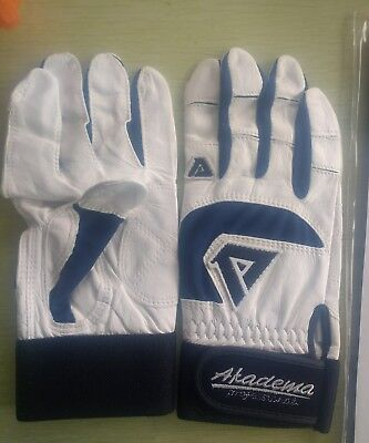AKADEMA BATTING GLOVES NEW BASEBALL PROFESSIONAL ADULT MED BTG 403 USA