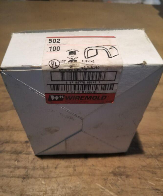 Wiremold 502 Galvanized Bushing Box of 100 17JS-1067 G16