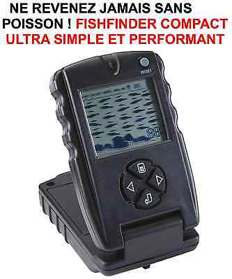 GENIAL ! FISHFINDER COMPACT AUTONOME 100% COMPLET ULTRA SIMPLE ET PERFORMANT !