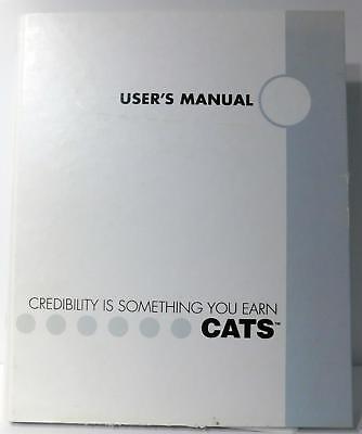 Audio Development CATS User Manual Software Version 2.13 Manual Version 1.6