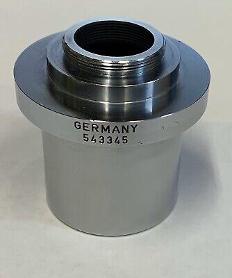 Leica Wild Leitz C-mount Photo Camera Adapter For Mz Series 38mm Microscope