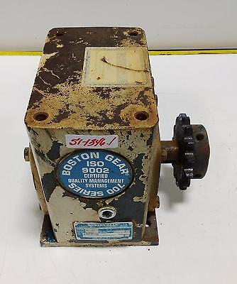 Boston Gear 201 Ratio Gear Reducer 72120g