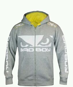 Bad Boy 2.0 Walk-in Hoodie - Grey - MMA BJJ Top (brand new with tags)