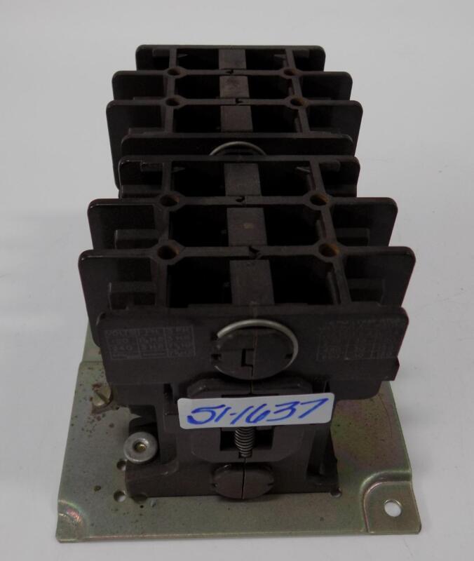 GOULD 30A 600VAC CONTACTOR 2200R EBR330AA SET OF 2