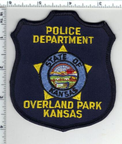 Overland Park Police (Kansas) Shoulder Patch - new from the 1980