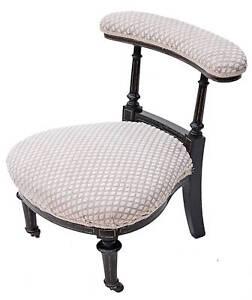 Antique-Gillows-19C-Victorian-ebonised-armchair-nursing-chair-prie-dieu