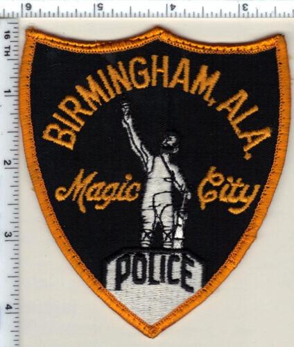 Birmingham Police (Alabama) Shoulder Patch - uniform take-off from 1993