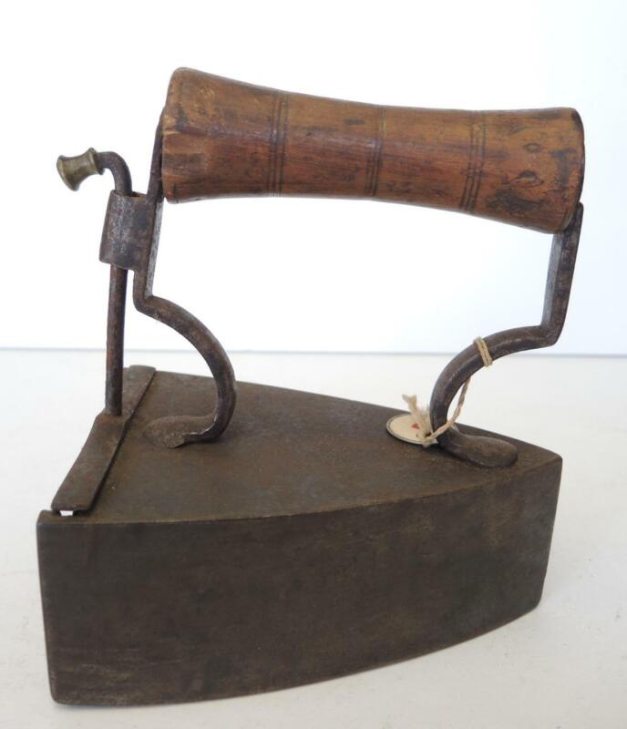 Early Antique Swedish Slug Box Iron by Tehipps