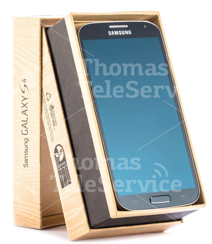 Samsung S4 i9505 Deep Black Tief Schwarz Smartphone Handy Android Neu OVP