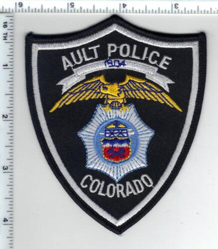 Ault Police (Colorado) Shoulder Patch - new from the 1980