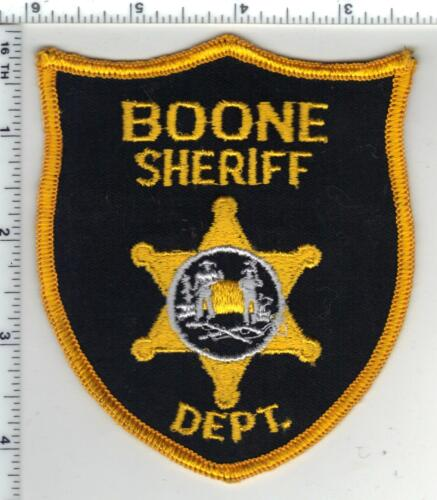 Boone County Sheriff (West Virginia) 1st Issue Shoulder Patch