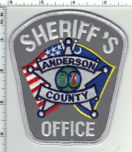 Anderson County Sheriff (South Carolina) 5th Issue Shoulder Patch