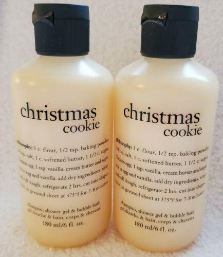 PHILOSOPHY Christmas Cookie Shower Gel Shampoo Bubble Bath 6