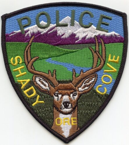 SHADY COVE OREGON OR POLICE PATCH
