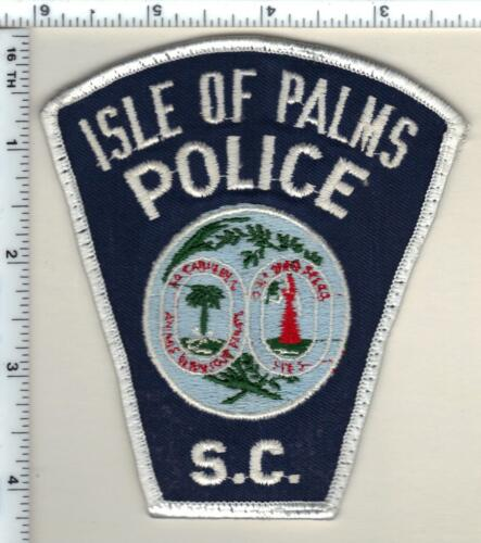 Isle of Palms Police (South Carolina) Shoulder Patch from the 1980