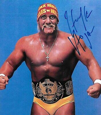 Hulk Hogan WWE WWF Autographed Signed 8x10 Photo (Hulk Hogan Autographed 8x10 Photo)