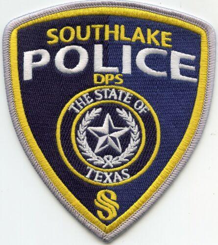 SOUTHLAKE TEXAS TX POLICE PATCH